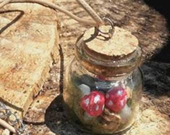 Hanging jar amanita