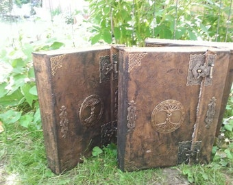 3 Book of Shadows for THE NEW WITCH with spells Wicca Pagan Spells Book of Shadows grimoire Witch book of shadows Journal  old