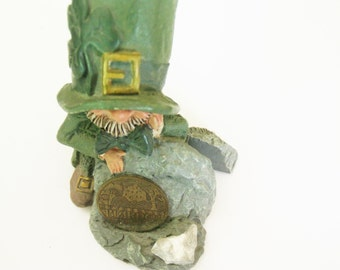Vintage Leprechauns / Finnians Leprechaun / Finnians Decor / Finnians Items / St. Patrick's Day Items / Blarney Stone Items / Roman, Inc.