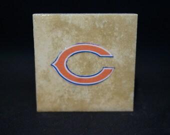 Chicago Bears (4-Pack) - Tile Magnets 1-3/4 x 1-3/4