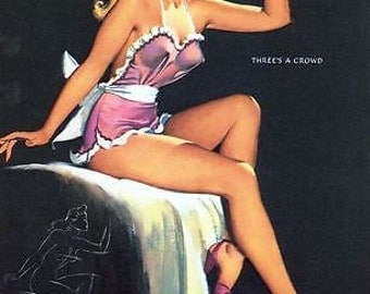 1950's Pin Up Poster 53 A3/A2/A1 Print