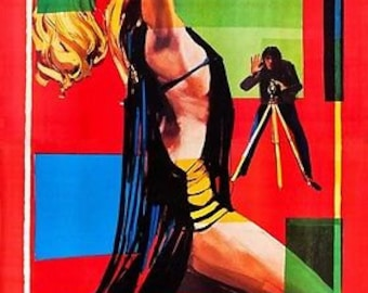 Blow Up With Redgrave Antonioni Yardbirds 1966 Film A3 Poster Reprint