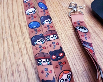 Binding of Isaac Lanyard