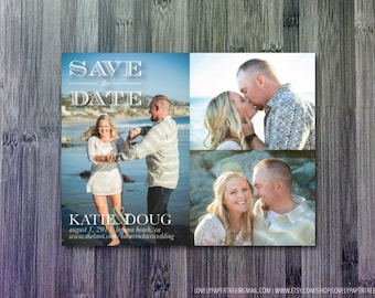 Three Photo Save the Date | SD17