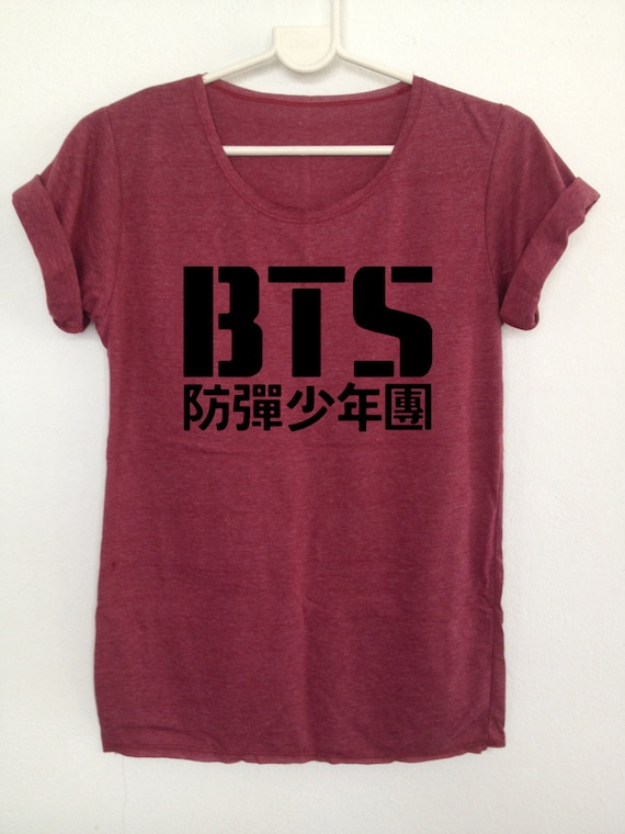 Bts Kpop Tshirts Boy Band Korea Bangtan Boys Clothing