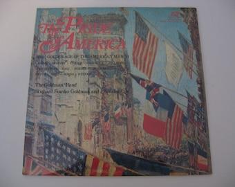 Factory Sealed! Sousa - Herbert - The Pride Of America - 1976