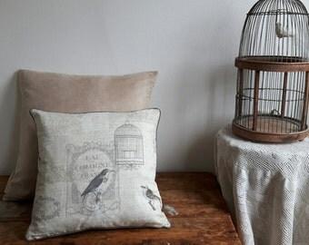Decorative pillow cover set Birds
