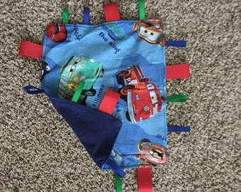 Cars Tag Blanket