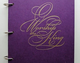 Worship Altered Book Journal Special Edition