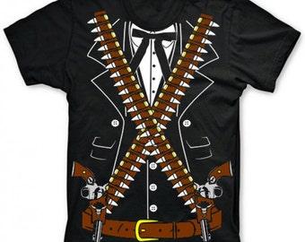 Mariachi Pistolero Bandido T-Shirt (Adult sizes S-3XL)