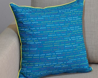 Unique Teal Yellow Decor Related Items Etsy