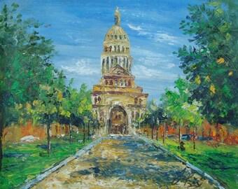 Texas State Capitol, Austin TX-Pen King -A924
