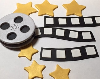 Movie Themed Cake Toppers - Fondant