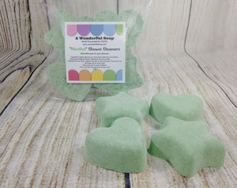 Strong Menthol Shower Steamers / Shower Bomb / Shower Soothers / Menthol Aromatherapy  / Shower Fizzie /  Sinus Shower Steamers