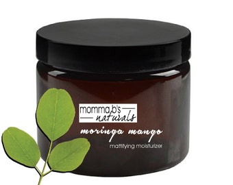 Natural Mattifying Moringa Moisturizer for Oily Skin