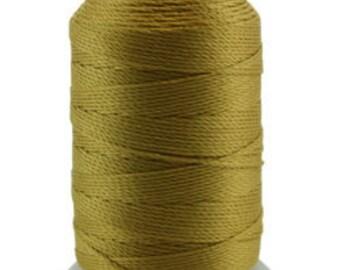 Silk Thread 1/2oz Spool Gold Size FF (CD7159)