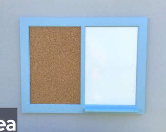 Large Dry Erase Board – Dual with Tray – Dry Erase Board – Cork and White