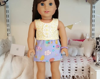 american girl doll easter outfit