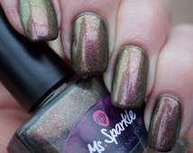 Fugly~Anti Polish Collection Ultra Chrome Chameleon Indie Nail Polish UCC Flakes Spectraflair Multichome 10ML