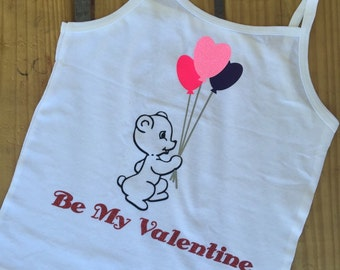 Bear and Balloons Valentine shirt