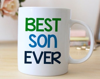 Best Son Ever Coffee Mug - Gift for Son - Coffee Mug for Son