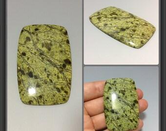 Serpentinite cabochon 57x37x5mm