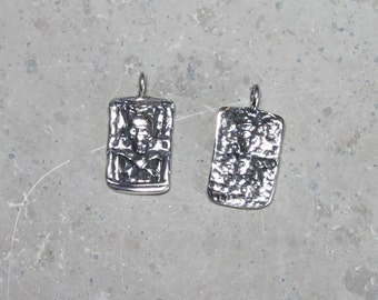 1  Pirate  #5 , Pendant/ Charms, sterling silver