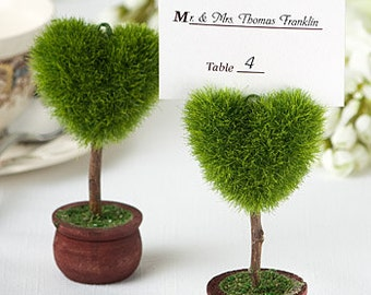 Topiary Place Card Holder