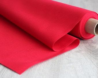 10 oz. Single Fill Duck Canvas, Bright Red