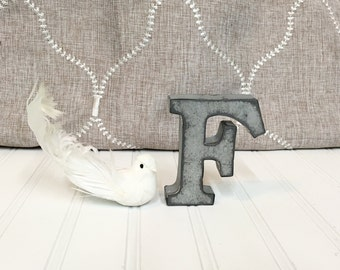 metal letters home decor small metal letters letter n 4 galvanized metal by 23627 | il 340x270.884866455 gaz2