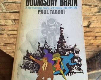 The Doomsday Brain by Paul Tabori - Cold War Era Spy Novel