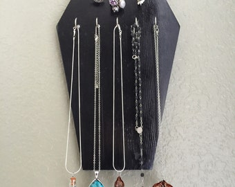 Coffin Jewelry Display