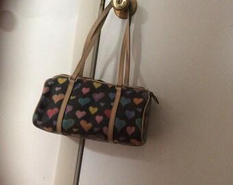 Dooney Heart Shoulder Bag
