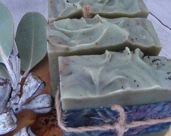 Eucalypt Forest - Handmade cold process artisan natural soap