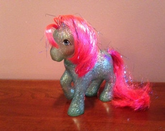 Vintage (1980s) My Little Pony Glitter Sky Rocket