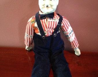 Vintage Oliver Hardy Porcelain Doll