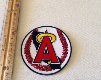 Angels baseball patch