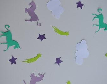Unicorn Confetti, Unicorn birthday