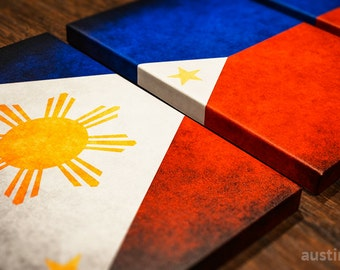 The Original Philippines Flag Triptych