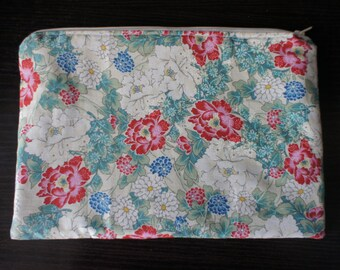 Japanese fabric clutch ,hand bag,bag,osaka