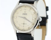 Omega automatic wrist watch Stainless Steel