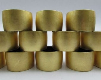 Vintage Gold Lacquered Napkin Rings