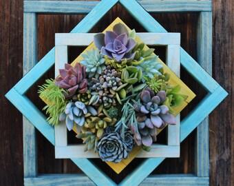 Made to Order Geometric Vertical Garden Planter
