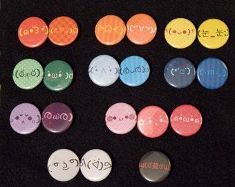 Pick 5! Emoticon Mini-Buttons