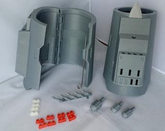 Death Watch (Pre Vizsla) Mandalorian Gauntlet 3D Printed Kit Mark 4 Hinged Model