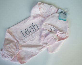 Pink Baby Girl Layette Set