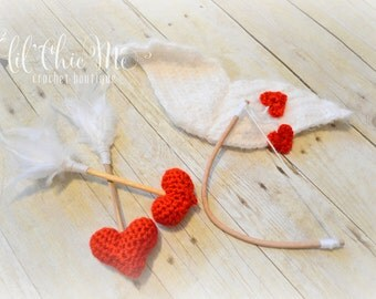 Newborn 3pc Cupid Set~Photography Prop
