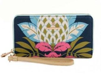 Monogrammed Spartina 449 Retreat Wrist Wallet