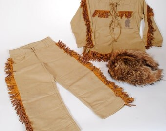 Davy Crockett Vintage Kids Outfit