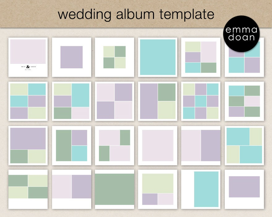 12x12 wedding album template photobook template photo. Black Bedroom Furniture Sets. Home Design Ideas